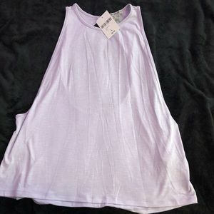 Cute lavender work out top! Brand new!!